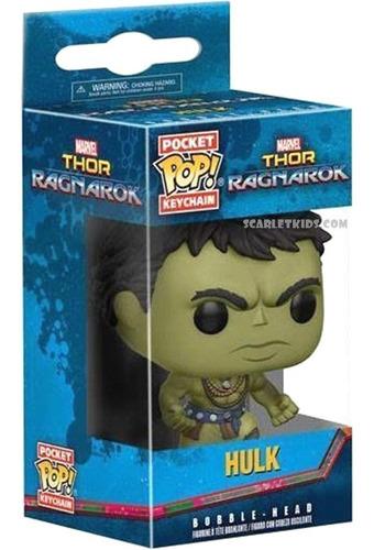Funko Pop Llavero Hulk Thor Ragnarok Original Funko Keychain Scarlet Kids