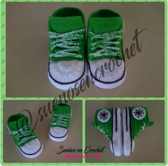 Converse All Star Tejidos A Crochet