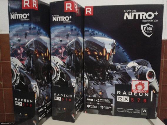 Tarjeta De Video Sapphire Radeon Nitro+ Rx 570 8g