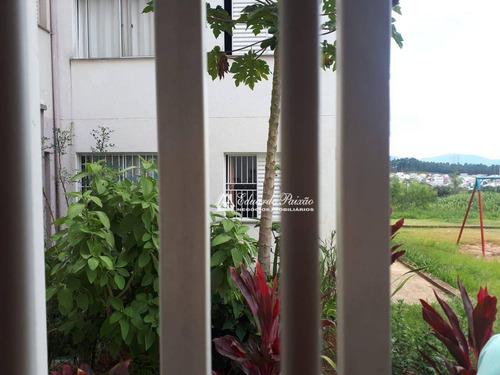 Apartamento Com 2 Dormitórios Para Alugar, 54 M² Por R$ 650,00/mês - Vila Nova Bonsucesso - Guarulhos/sp - Ap0311