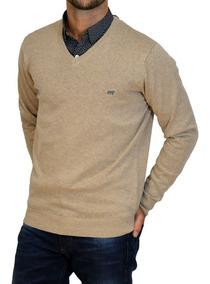 Sweater Pullover Algodon Cuello V 14785 Hombre Mistral Ver19