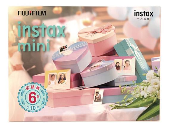 Fujifilm Instax Mini Câmera Instax Papel Fotográfico Instant