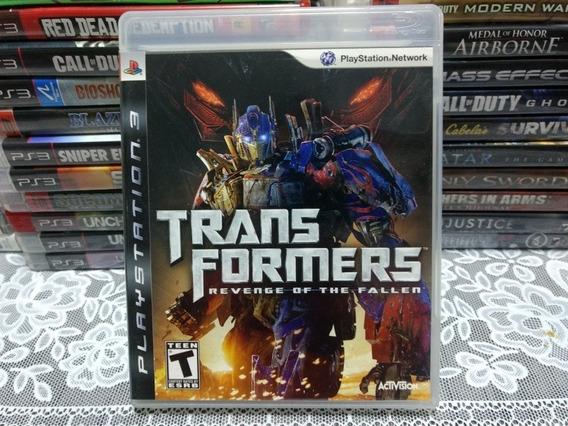 Jogo Ps3 Transformers Revenge Of The Fallen Mídia Física