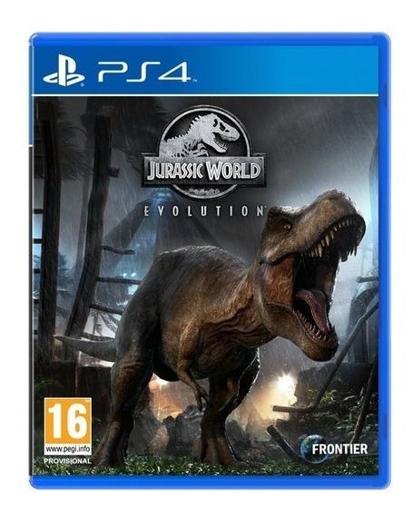 Jurassic World Evolution Ps4 Mídia Digital