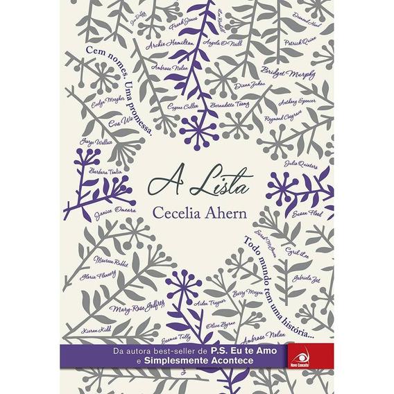 Livro - A Lista - Cecelia Ahern - Novo Conceito