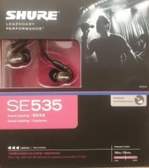 Shure Fone In Ear Se535-v Bronze