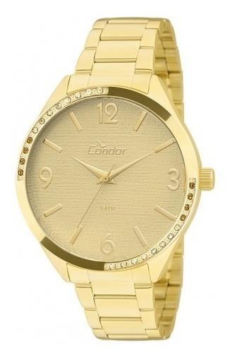 Relógio Feminino Condor Banhado Ouro 18k Garantia Original