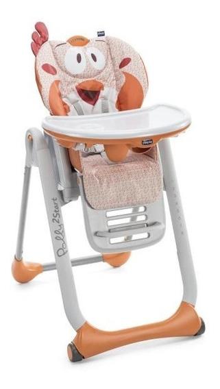 Cadeira De Alimentação Chicco Polly 2 Start Fancy Chicken