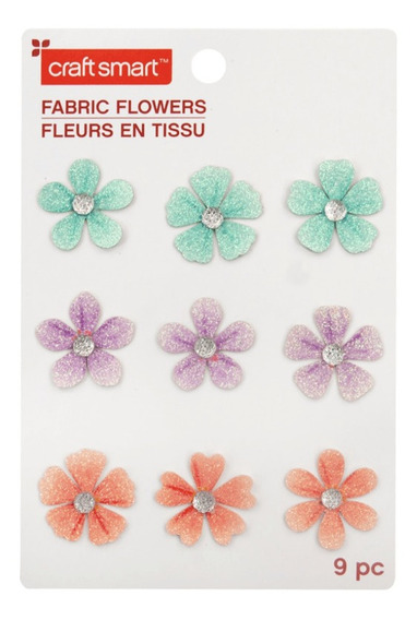 Set De 9 Flores De Papel Craftsmart