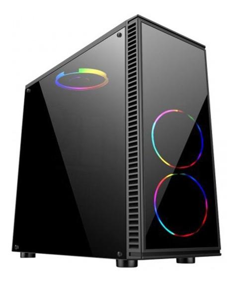 Cpu Gamer Asus Core I5 7400 8gb Ssd240gb 2gb Com 3 Leds