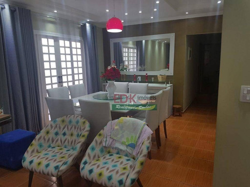 Imagem 1 de 19 de Casa Com 3 Dormitórios À Venda, 180 M² Por R$ 550.000 - Cidade Jardim - Jacareí/sp - Ca6360