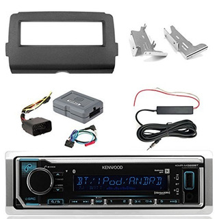 Radio Bluetooth Marina Kenwood Kmr-m322bt, Kit De Cableado I