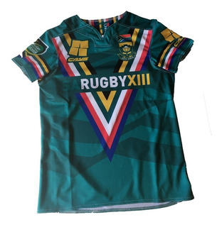 Camiseta Rugby Cays Spandex Reforzada Elastizada Adulto Resistente