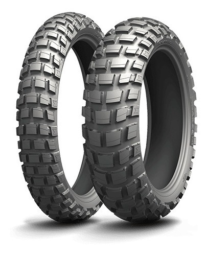 Par Pneu Bmw R1200 Gs Adventure Anakee Wild - Michelin
