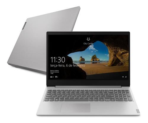 "Notebook - Lenovo 81s9000jbr I5-8265u 1.60ghz 8gb 256gb Ssd Geforce Mx110 Windows 10 Home Ideapad S145 15,6"" Polegadas"