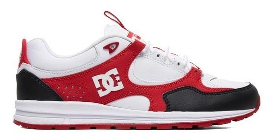 Tênis Dc Shoes Kalis Lite Se Imp - Black/white/red Promoção