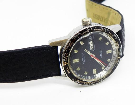 Reloj Bulova Caravelle Automático Diver, Caja Acero De 35 Mm