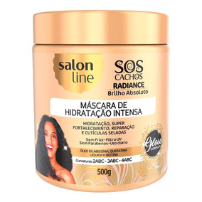 Máscara De Tratamento Salon Line Sos Hidratação Radiance Bri