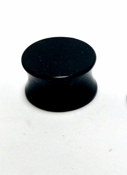 Alargador Plug Acrílico Preto 10mm 12mm 14mm 16mm 18mm 20mm
