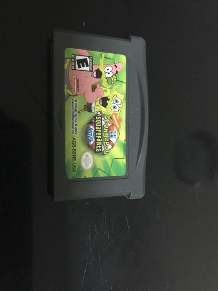 Spongebob Squarepants Movie Original Game Boy