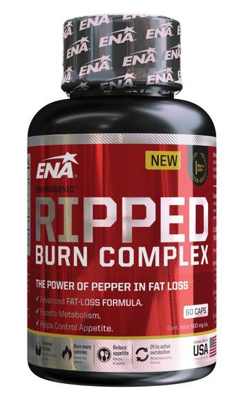 Ena Sport Ripped Burn Complex Quemador Grasa Termogenico X60
