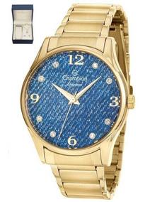 Kit Relógio Feminino Champion Cn26975k