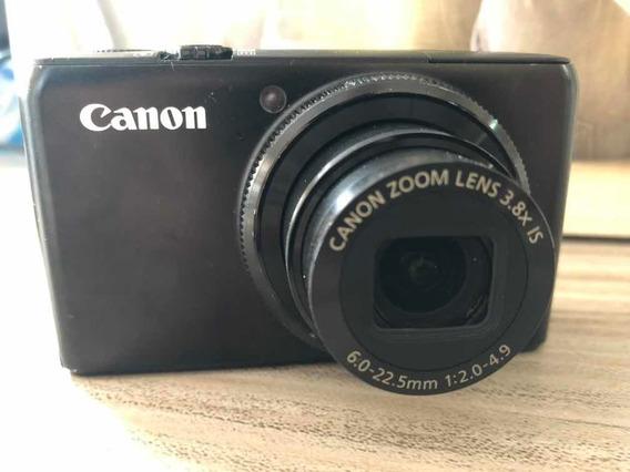 Canon Powershot S90 3.8x Zoom Óptico Na Caixa