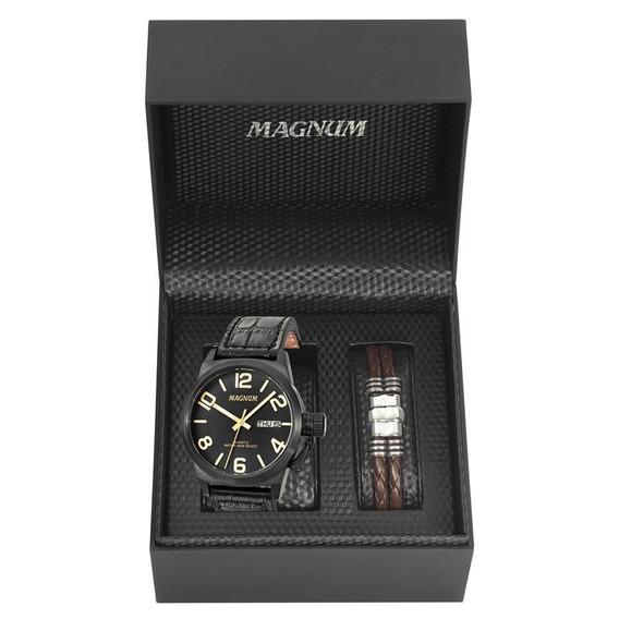 Kit Relógio Magnum Masculino - Ma33399c
