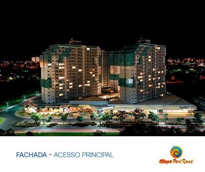Olímpia Park Resort -2 Quartos- Cota No Pool Gerando Lucros