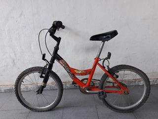 Bicicleta Tomaselli Stark Kids Usada Rodado 16