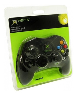 Control Xbox Clasico Negro Nuevo Primera Generacion