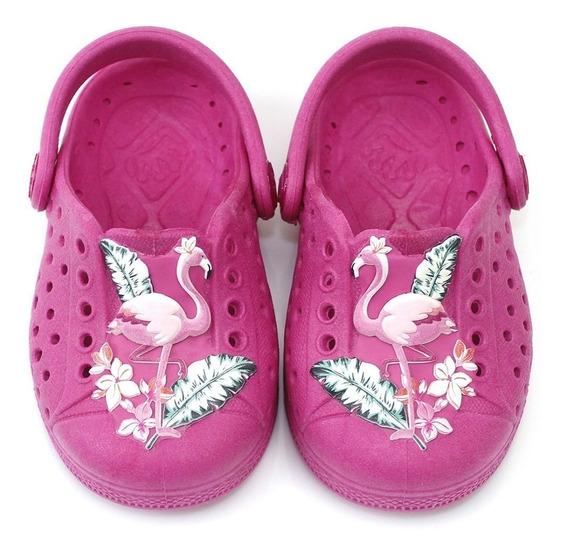Sandália Flamingo Infantil Feminina Meninas Modinha