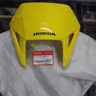 Mascara Cubre Optica Tornado Xr250 Amarillo Original Pzm