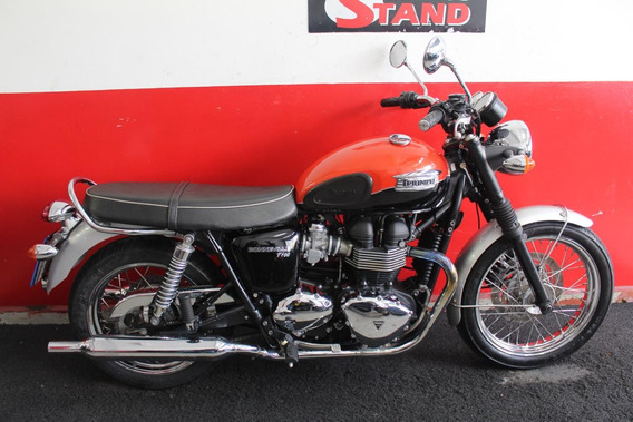 Triumph Bonneville T100 865 2015 Laranja