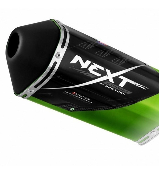 Ponteira Escape Esportivo Next Cb Twister 250 2015 Verde