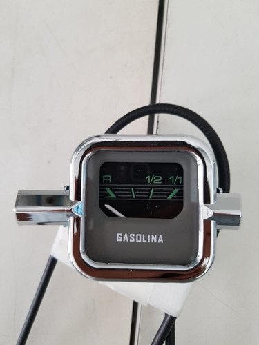 Marcador  Gasolina Fusca 67/68/69/70  Vdo Metal Aro Abs