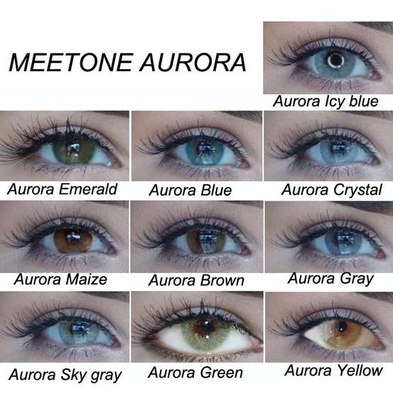 Pupilentes Meetone Aurora Con Estuche