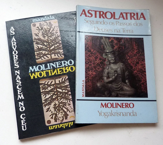 Livro Molinero 2 Edições Esoterico Astrologia Yogakrisnanda