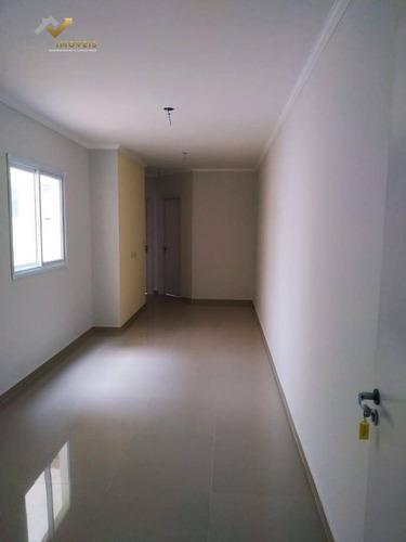 Cobertura À Venda, 102 M² Por R$ 340.000,00 - Vila Tibiriçá - Santo André/sp - Co0209