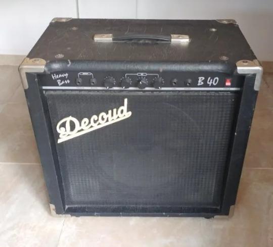Amplificador De Bajo Decoud 40 Watts Usado