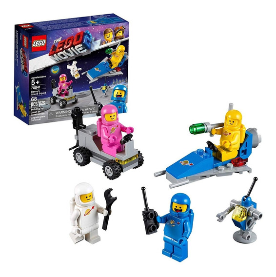 Lego Movie Benny Space Squad 68 Piezas