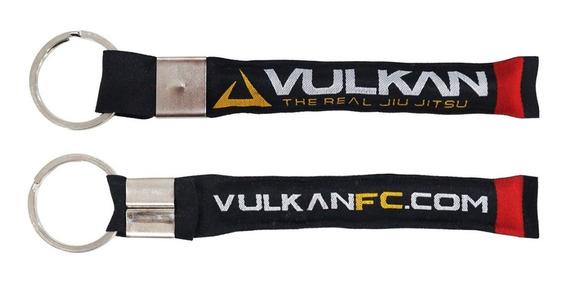 Chaveiro Jiu Jitsu Acessorio Vulkan Black Belt Estampado