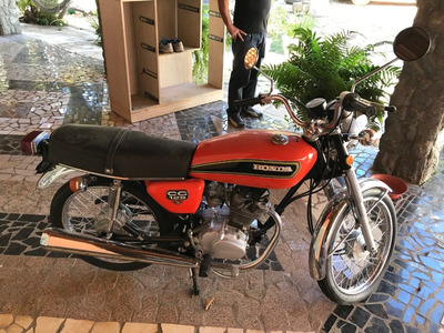 Moto Honda Cg Bolinha 1976