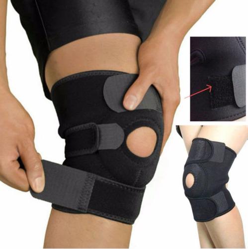Rodillera Ortopédico Ajustable Velcro Triple Ajuste Neopreno