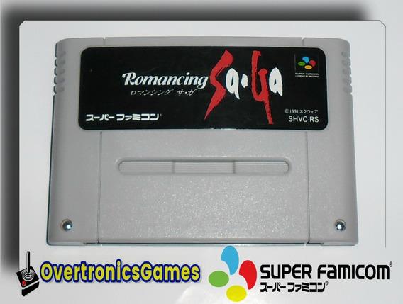 Jogo Romancing Saga Super Nintendo Famicom/ Snes