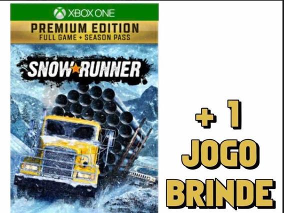 Snow Runner Premium Edition Xbox One Midia Digital
