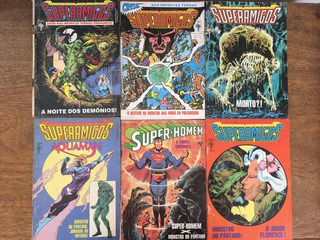 Hq Superamigos 6 Volumes
