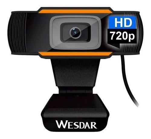 Camara Web Webcam Usb Pc Hd 720p Plug & Play Microfono Jack