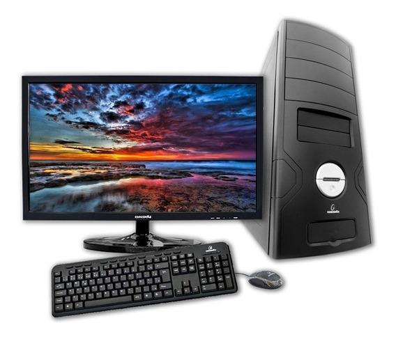 Computador +monitor 19.5 Concordia Amd Fx 4300 4gb Hd 500gb