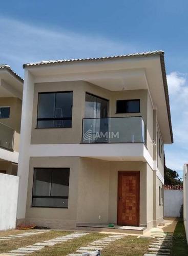 Casa Com 4 Dormitórios À Venda, 150 M² Por R$ 750.000,00 - Itaipu - Niterói/rj - Ca0811